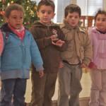 Der Kindergarten singt vor